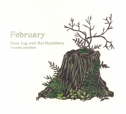 February, from The Months, © Tina Hoggatt 1999